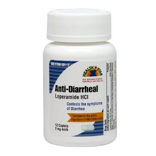 Loperamide HCI Anti-Diarrheal Caplets