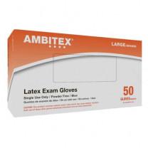 Ambitex Powder Free Latex Exam Gloves L620 Series