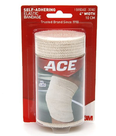 how to clean an ace bandage