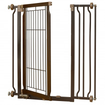 Hands-Free Pressure Mounted Pet Gate