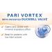 Vortex Non-Electrostatic Holding Chamber Duckbill Valve