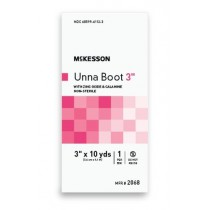 Cotton Unna Boot with Zinc Oxide 3 Inch x 10 Yard - NonSterile