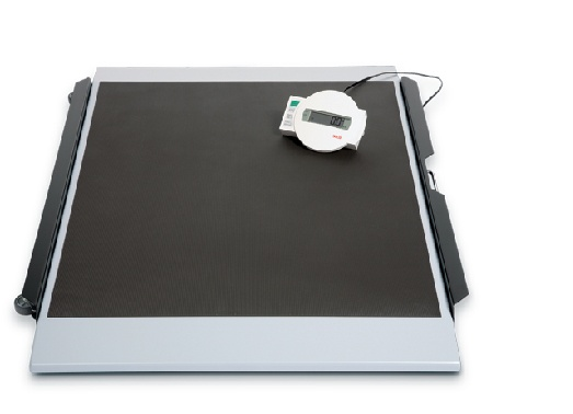 seca high capacity digital stretcher scale with wireless transmission 656 0fe