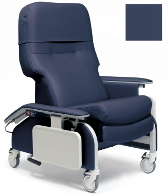 lumex deluxe clinical care recliner by graham field  f80