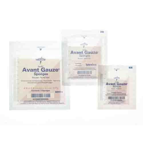 Avant NON21444 Gauze Non-Woven Sponges 4x4 Inch 4 Ply - Sterile
