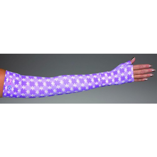 LympheDivas Versailles Compression Arm Sleeve 20-30 mmHg w/ Diva Diamond Band