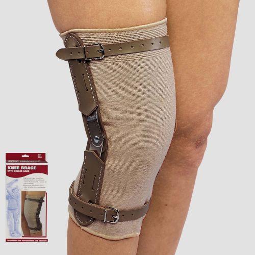 Knee Brace with Hinged Bars