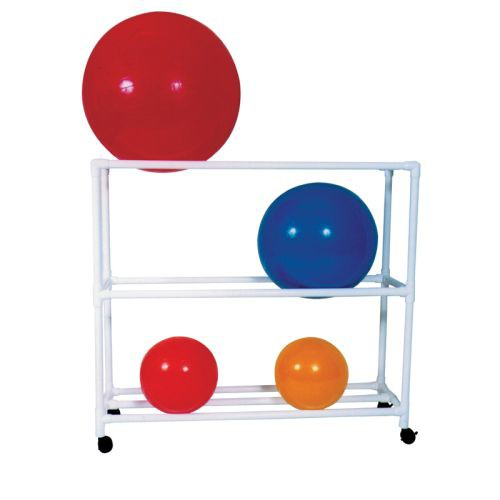 MJM PVC Fitness Ball Rack