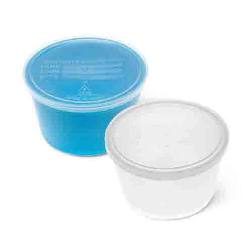 Denture Container with Lid