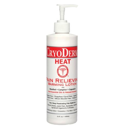 Cryoderm Heat Lotion 16 oz