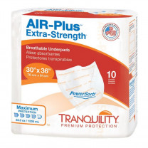 Tranquility AIR-Plus Extra Strength Breathable Underpad