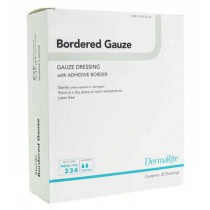 DermaRite Bordered Gauze Dressing