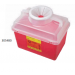 BD Stackable Sharps Container Large Funnel with Clear Top 305480