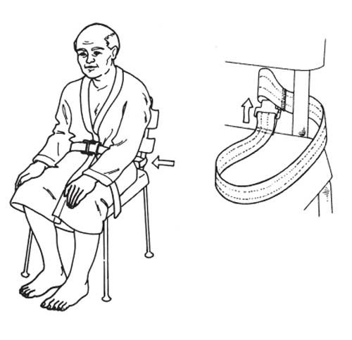 Skil Care Shower Chair Safety Belt