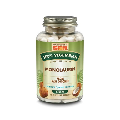 Health From The Sun Monolaurin 100 Percent Vegetarian Dietary Supplement