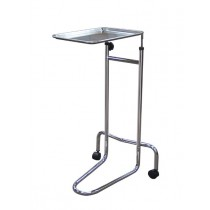Mayo Instrument Tray Stand Double Post