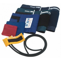 MDF Large Adult Blood Pressure Cuff with D-Ring and Single Tube