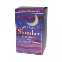 Herbal Slumber Melatonin and Valerian Formula