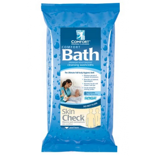 Comfort Bath Ultra Thick Disposable Washcloths 7900a 7904
