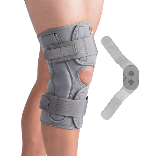 Swede-O Thermal Vent Open Wrap Hinged ROM Knee Brace