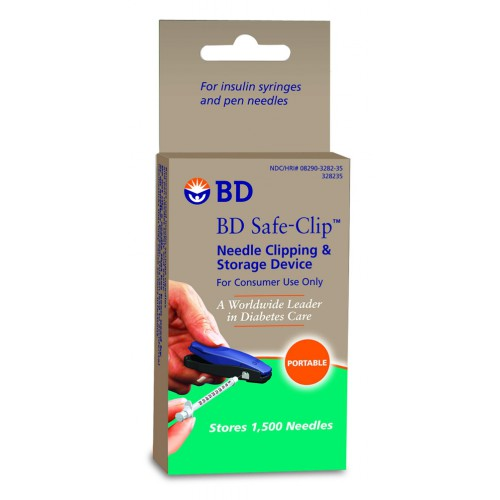 Needle Clipper BD Safe Clip Insulin Syringe Needle Clipper