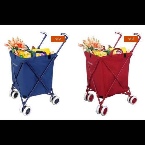 VersaCart Folding Utility Cart - 120lbs Capacity