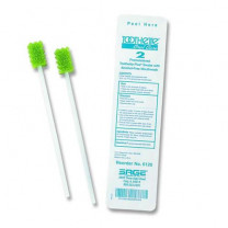 Sage Ora Swab Premoistened Disposable Oral Brush