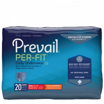 Prevail Per-Fit Men Packaging