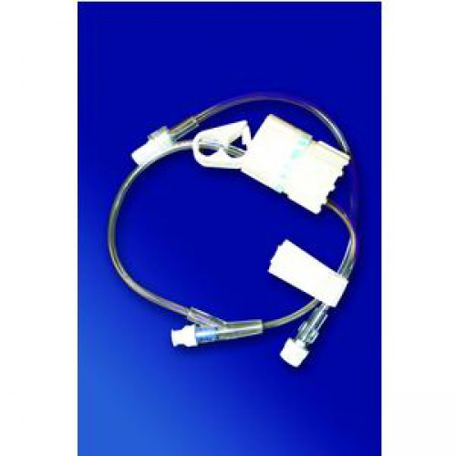 IV Flow Control Extension Set with Smartsite Needleless Injection Site