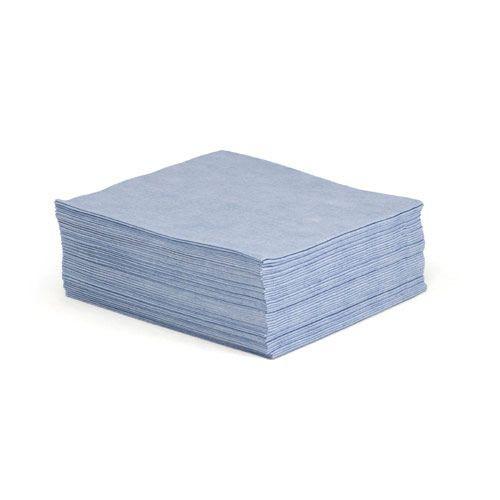 Taskbrand A115 Sontara Creped Flat Bulk Blue Wipers