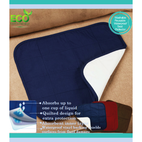 Quilted Waterproof Seat Protector by CareActive