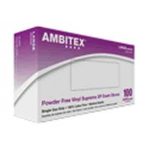 Ambitex Vinyl Exam Gloves Powder Free - NonSterile
