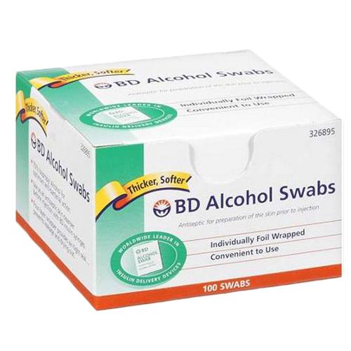 BD Isopropyl Alcohol Swabs