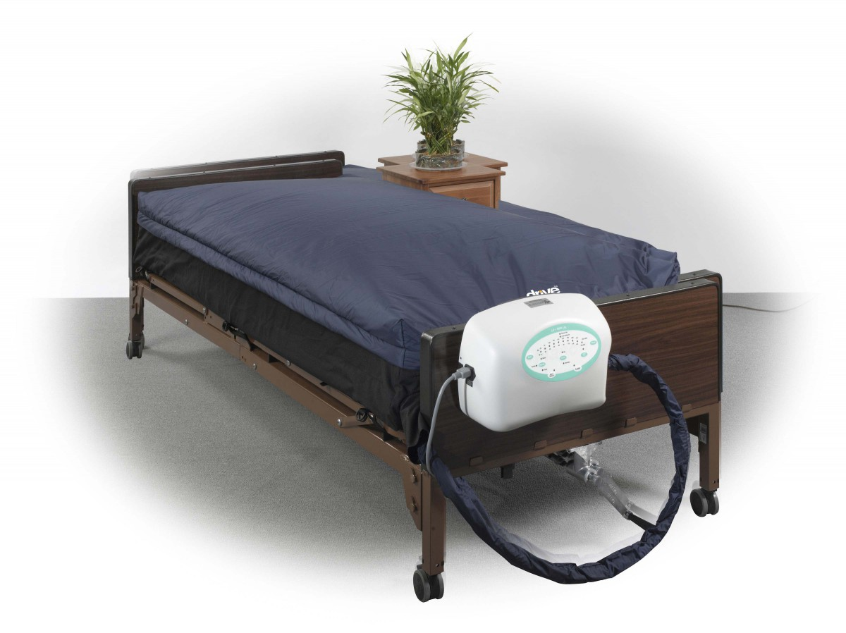 buy mattress system with pulsation true low air loss air bed hospital mattresses drive medical ls9000 ls9000b42