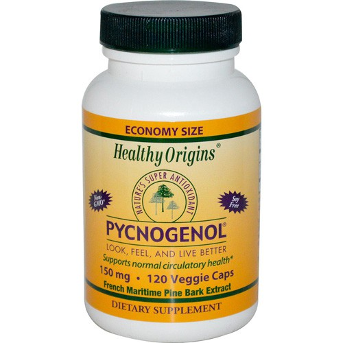 Healthy Origins Pycnogenol 150 mg Dietary Supplement