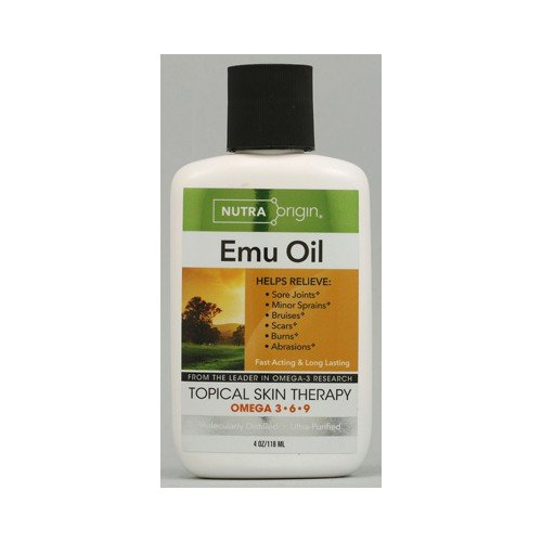 Nutiva Omega 3 6 9 Liquid Emu Oil