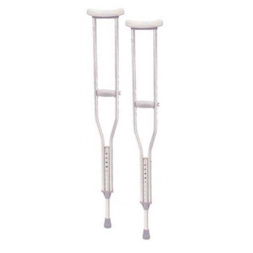 Drive Walking Crutches Aluminum with Comfortable Underarm Pad and Handgrip