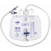 2,000 mL, Anti-Reflux Tower with Slide-Tap, OR Sterile, Luer Lock