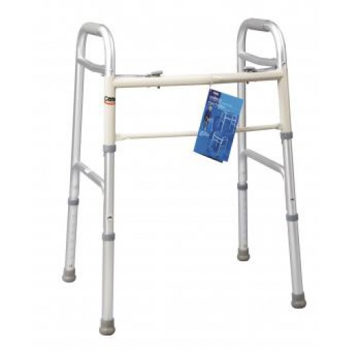 Folding Walker with Dual Button Action