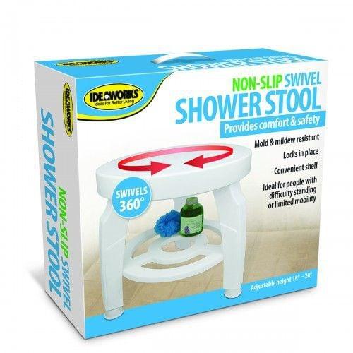 Non-Slip Swivel Shower Stool