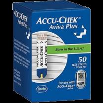 Roche Accu-Chek Aviva Plus Strips Box of 50 - 05949033001