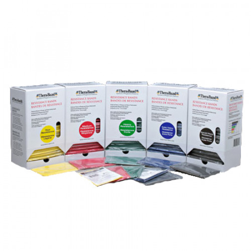 Thera Band Exercise Bands Dispenser Pack