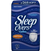 Prevail SleepOvers Youth Pants Child Diaper Briefs