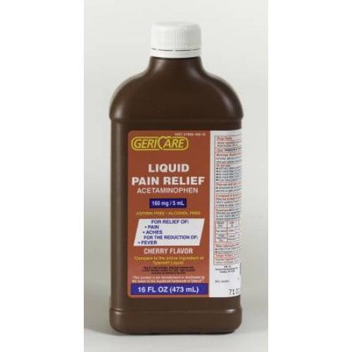 Children's Liquid Acetaminophen 160 mg