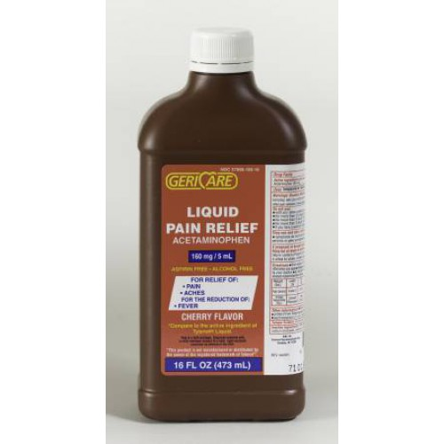 Children's Liquid Acetaminophen 160 mg