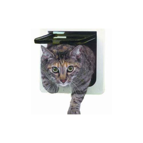 Lockable Cat Flap Door