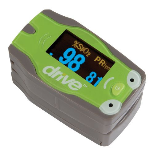 Pediatric Pulse Oximeter with Hand Bag (18707) | Drive Medical