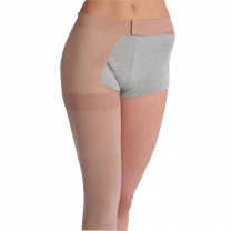 Juzo Soft 2002 Thigh High Compression Stockings w/ Hip Attachment OPEN TOE 30-40 mmHg