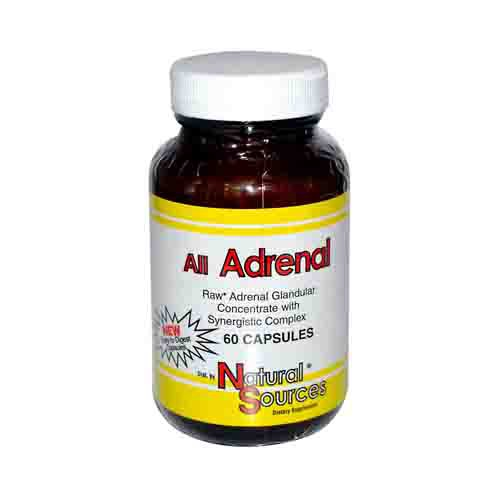 All Adrenal Glandulars Dietary Supplement
