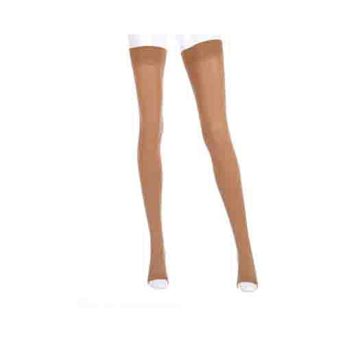 Mediven Forte Thigh High Compression Stockings w/ Silicone Top Band OPEN TOE 30-40 mmHg
